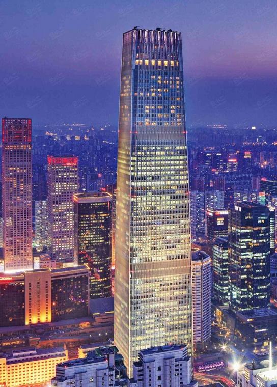 北京国贸大酒店外观/俯瞰