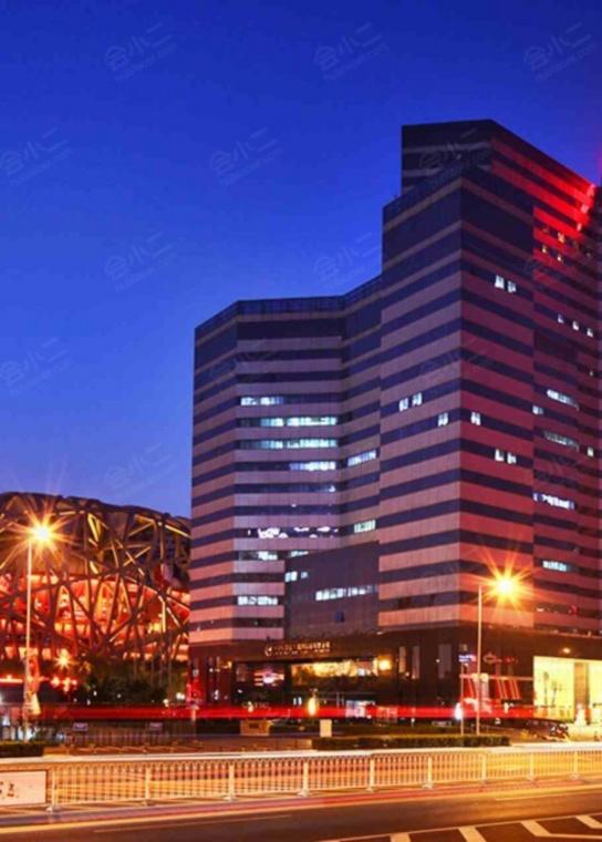 北京凯迪克格兰云天大酒店外观/俯瞰