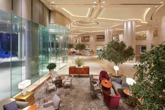 北京东方君悦大酒店大堂