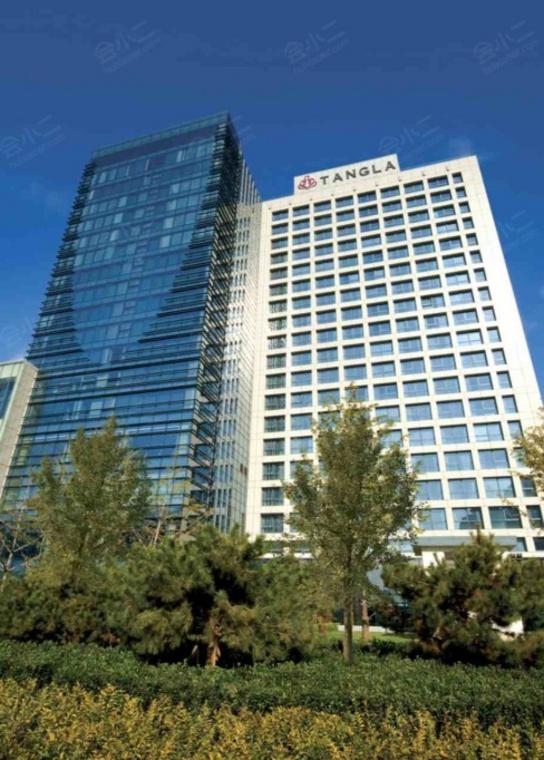 北京唐拉雅秀酒店外观/俯瞰