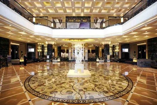 上海浦东星河湾酒店大堂