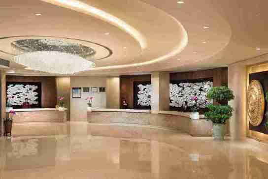 深圳香格里拉大酒店大堂