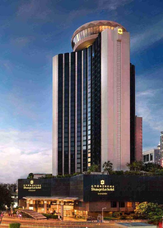 深圳香格里拉大酒店外观/俯瞰