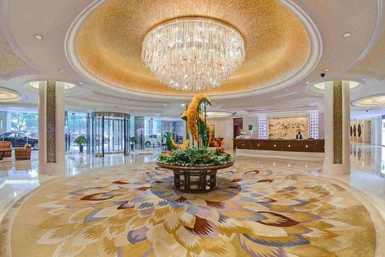 苏州香格里拉大酒店大堂