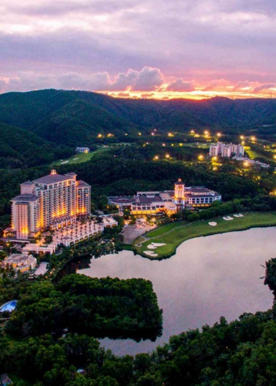 东莞观澜湖度假酒店外观/俯瞰