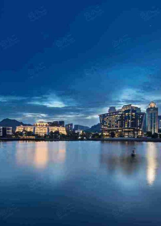 深圳蛇口希尔顿南海酒店外观/俯瞰