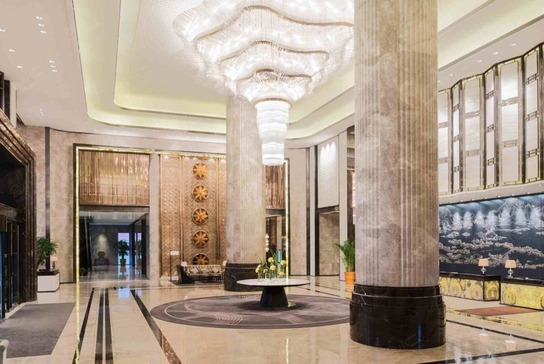 南京富力万达嘉华酒店大堂