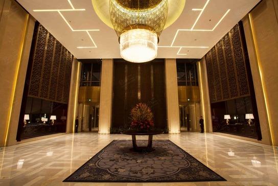 北京朗丽兹西山花园酒店大堂