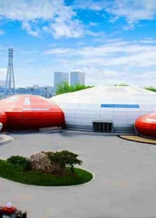 花博宴会中心(插花艺术博物馆)外观/俯瞰