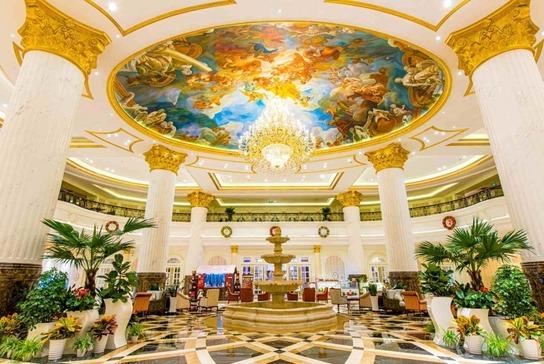 北京新華聯麗景溫泉酒店大堂