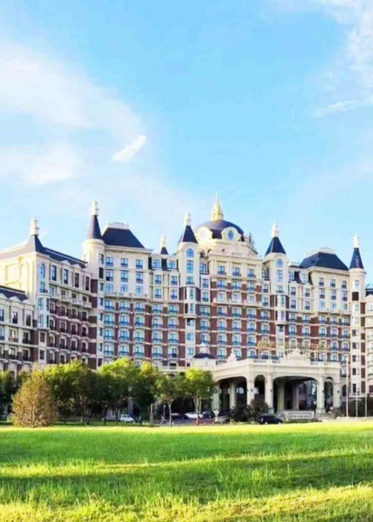 北京新华联丽景温泉酒店外观/俯瞰