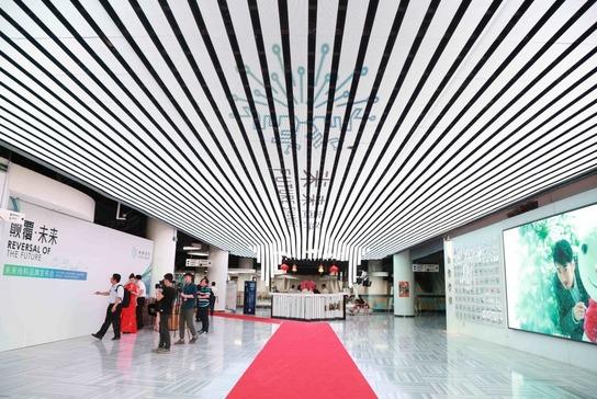鸟巢CAIA北京会展中心大堂