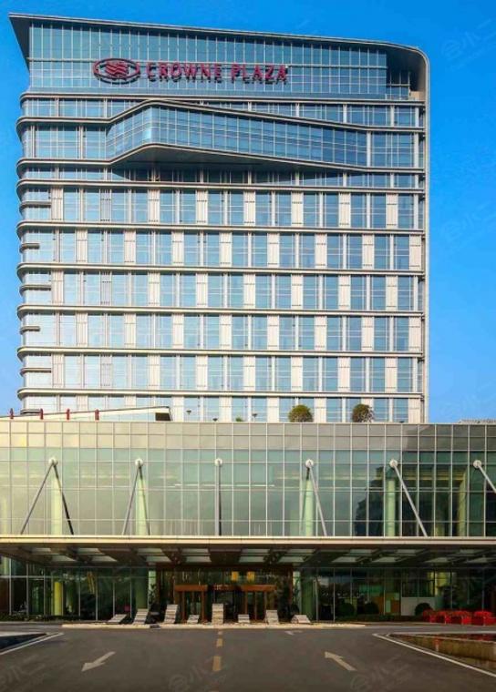 成都温江皇冠假日酒店外观/俯瞰