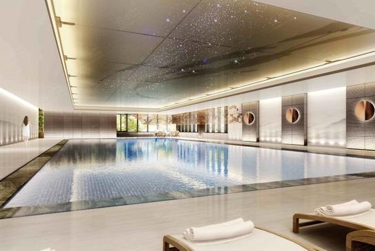 银保建国酒店泳池/康体