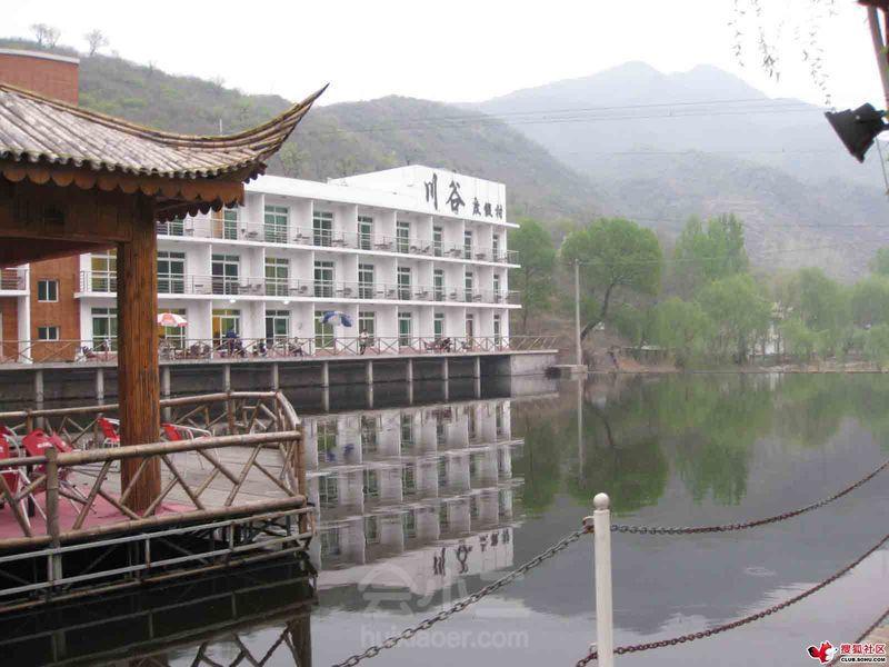 北京川谷度假村有限责任公司汇聚20里不夜谷山水风景,湖光山色,环境