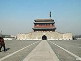 北京东城区永定门城楼及南北广场