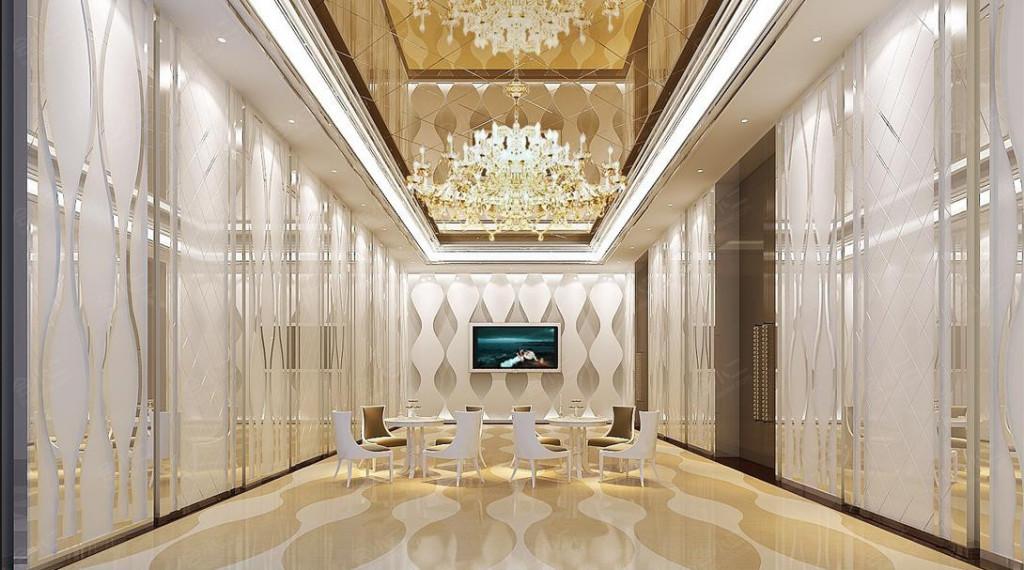 【酒店大堂】欧式风格,豪华装修